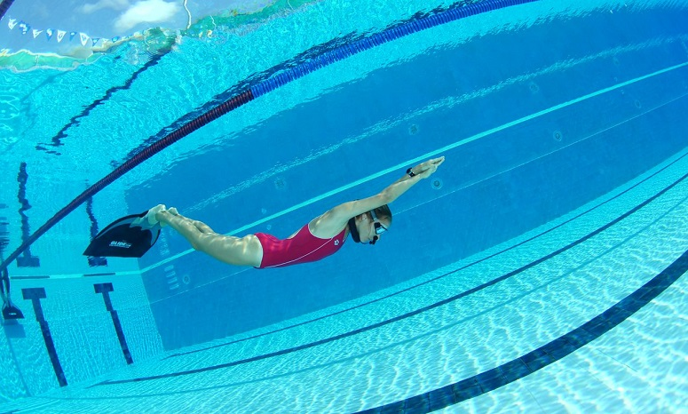 Freediving In Pool