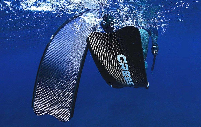 Diving With Cressi Fins