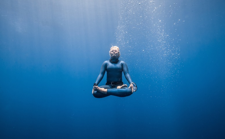 Meditating In Water
