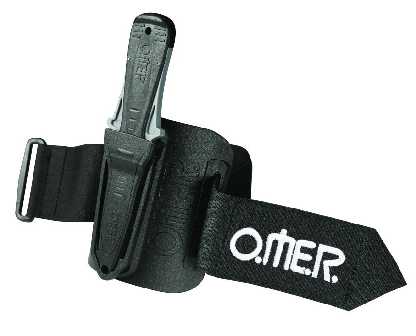 Omer Mini Laser Knife with Arm Sheath