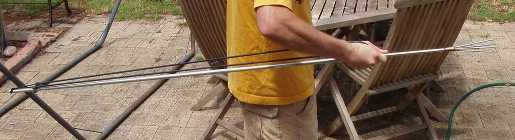 Polespear under tension