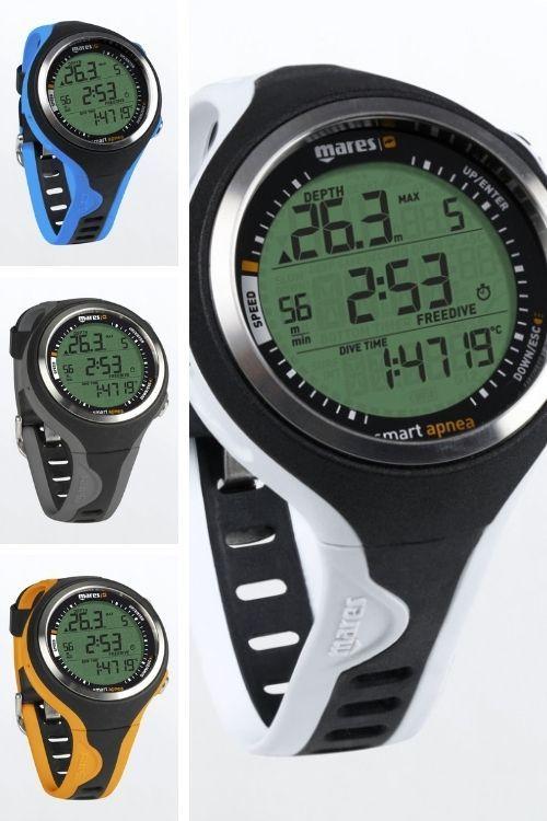 Mares Smart Apnea Freediving Watch