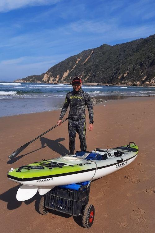 Spearfishing Kayak Trip
